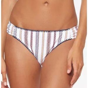 Jessica Simpson Shirred Hipster Bikini Bottom XL